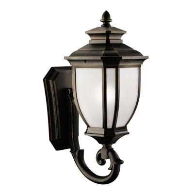 Kichler Lighting 9043RZ Salisbury - One Light Outdoor Wall Mount