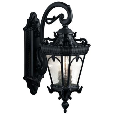 Kichler Lighting 9357BKT Tournai - Two Light Outdoor Wall Mount