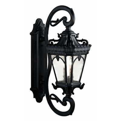 Kichler Lighting 9359BKT Tournai - Four Light Outdoor Wall Mount