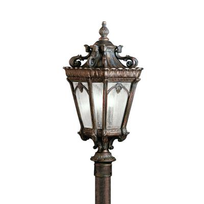 Kichler Lighting 9558LD Tournai - Three Light Post Mount