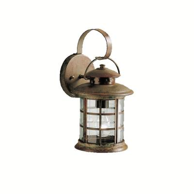 Kichler Lighting 9760RST One Light Outdoor Wall Fixture