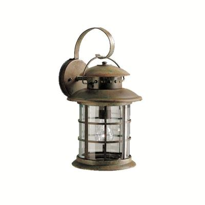 Kichler Lighting 9761RST One Light Outdoor Wall Fixture