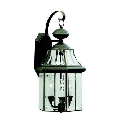 Kichler Lighting 9785OZ Embassy Row - Three Light Outdoor Wall Mount