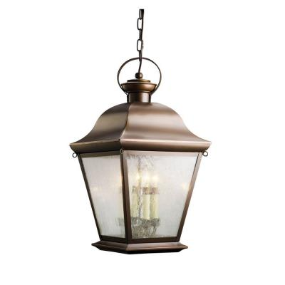 Kichler Lighting 9804OZ Mount Vernon - Four Light Outdoor Pendant