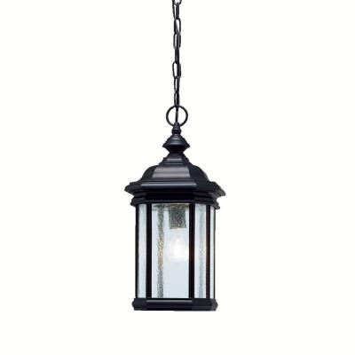 Kichler Lighting 9810BK Kirkwood - One Light Outdoor Pendant