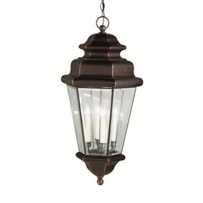 Kichler Lighting 9831OZ Savannah Estates - Four Light Pendant