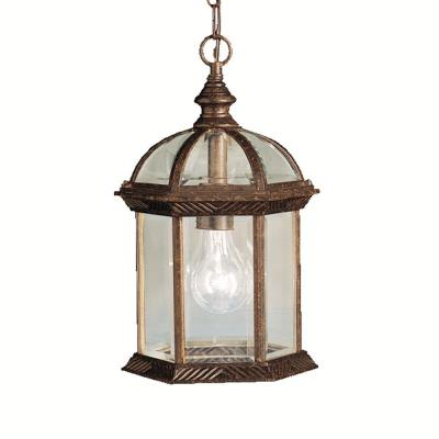Kichler Lighting 9835TZ New Street - One Light Outdoor Pendant