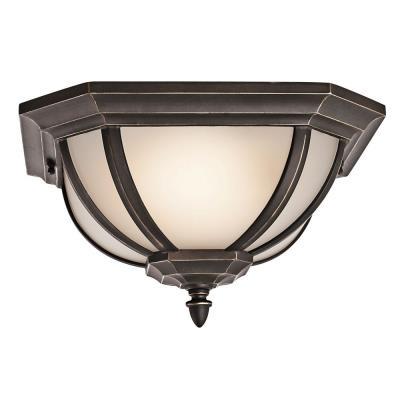 Kichler Lighting 9848RZ Salisbury - Two Light Outdoor Flush Mount