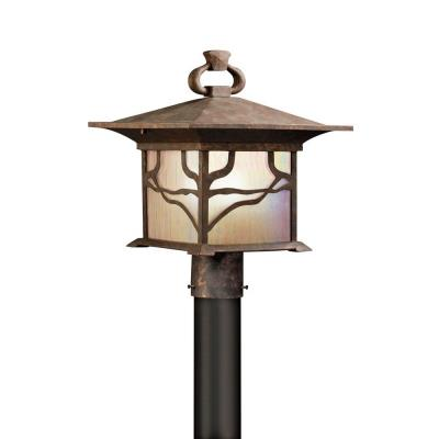 Kichler Lighting 9920DCO Morris - One Light Outdoor Post Mount