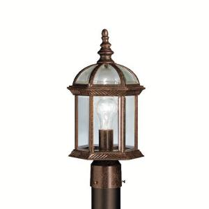 "Barrie - 16"" 9W 1 LED Outdoor Post Lantern"