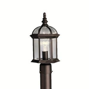 New Street - One Light Outdoor Post Mount