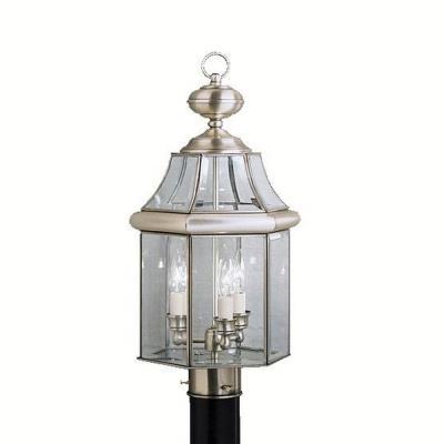 Kichler Lighting 9985AP Embassy Row - Three Light Post Mount