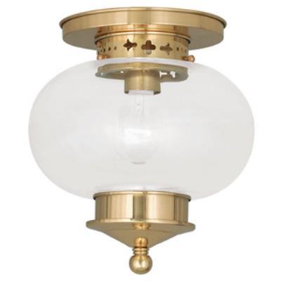 Livex Lighting 5032-02 Harbor - One Light Flush Mount