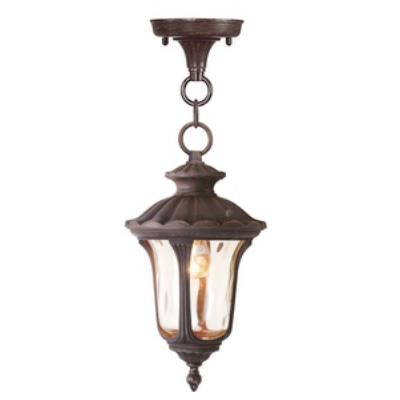 Livex Lighting 7668-58 Oxford - One Light Outdoor Hanging Lantern