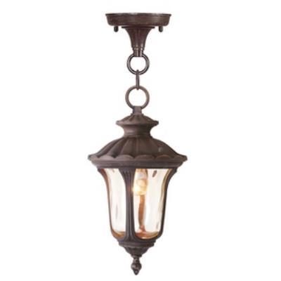 Livex Lighting 7668-58 Oxford - One Light Outdoor Hanging Lantern