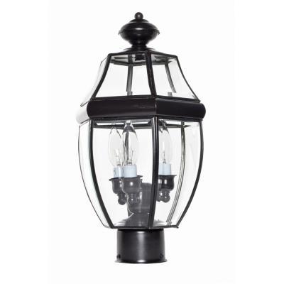 Maxim Lighting 6097 South Park - Three Light Outdoor Pole/Post Mount