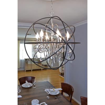 Maxim Lighting 25140 Orbit - Three Light Chandelier