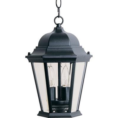 Maxim Lighting 1009BK Westlake - Three Light Outdoor Hanging Lantern