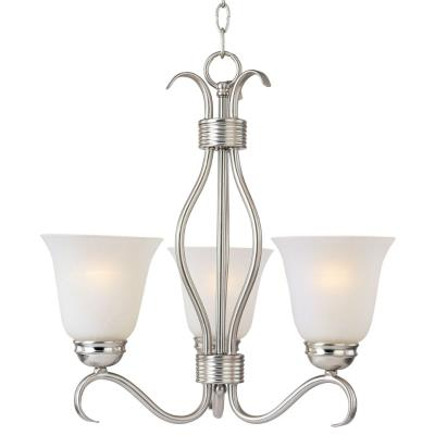 Maxim Lighting 10123ICSN Basix - Three Light Chandelier