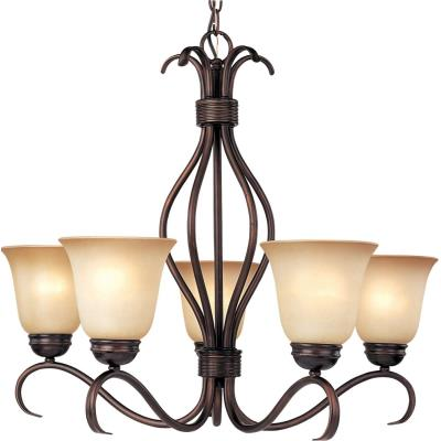 Maxim Lighting 10125WSOI Basix - Five Light Chandelier