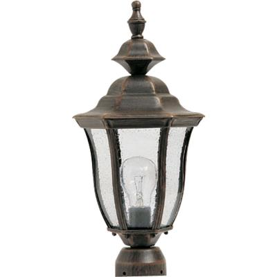 Maxim Lighting 1013RP Madrona - One Light Outdoor Pole/Post Lantern