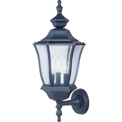 Maxim Lighting 1014BK Madrona - Three Light Outdoor Wall Lantern
