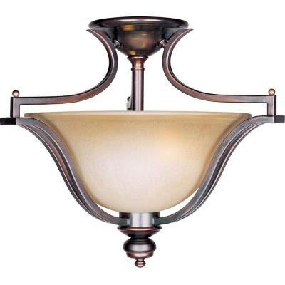 Maxim Lighting 10171WSOI Madera - Three Light Semi-Flush Mount