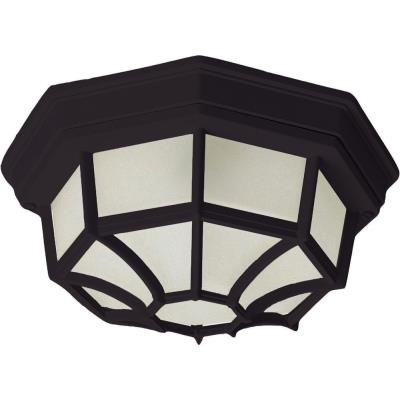 Maxim Lighting 1020BK Crown Hill - Two Light Outdoor Flush Mount