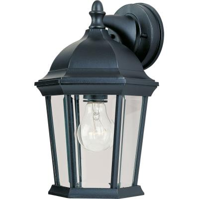 Maxim Lighting 1024BK Builder Cast - One Light Outdoor Wall Mount