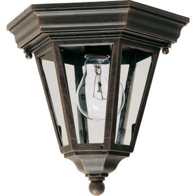 Maxim Lighting 1027RP Westlake - One Light Outdoor Flush Mount