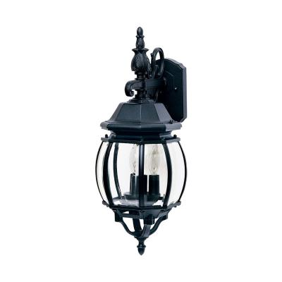 Maxim Lighting 1034BK Crown Hill - Three Light Outdoor Wall Mount