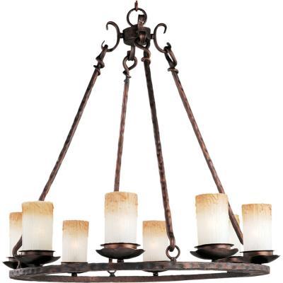 Maxim Lighting 10976WSOI Notre Dame - Eight Light Chandelier