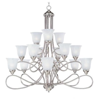 Maxim Lighting 11045 Nova - Fifteen Light 3-Tier Chandelier