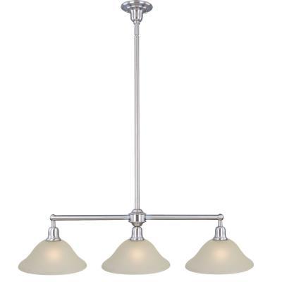 Maxim Lighting 11093SVSN Bel Air - Three Light Pendant