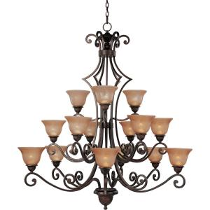 Symphony - Fifteen Light 3-Tier Chandelier