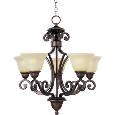 Maxim Lighting 11244SVOI Symphony - Five Light Chandelier