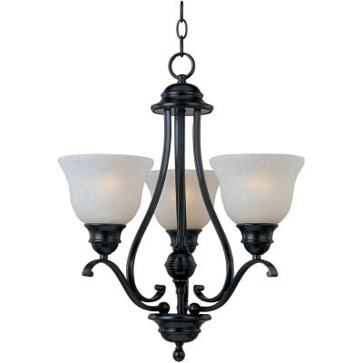 Maxim Lighting 11804ICBK Linda - Three Light Chandelier