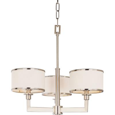 Maxim Lighting 12054WTSN Nexus - Three Light Chandelier