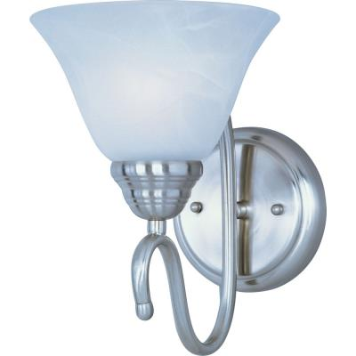 Maxim Lighting 12066MRSN Newport - One Light Wall Sconce