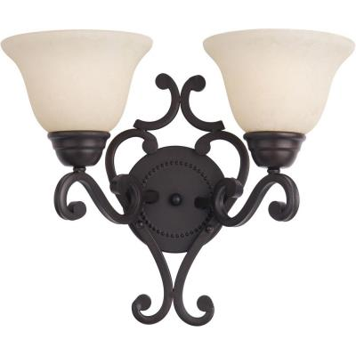 Maxim Lighting 12212FIOI Manor - Two Light Wall Sconce