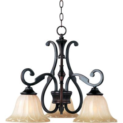 Maxim Lighting 13504WSOI Allentown - Three Light Chandelier
