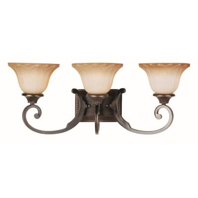 Maxim Lighting 13513WSOI Allentown - Three Light Bath Vanity