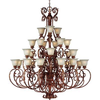Maxim Lighting 13569 Augusta - Twenty-Seven Light 4-Tier Chandelier