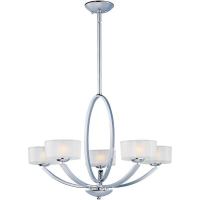 Maxim Lighting 19045FTPC Elle - Five Light Chandelier