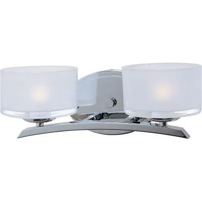 Maxim Lighting 19052FTPC Elle - Two Light Bath Vanity