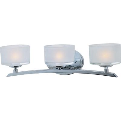 Maxim Lighting 19053FTPC Elle - Three Light Bath Vanity