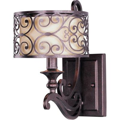 Maxim Lighting 21152WHUB Mondrian - One Light Wall Sconce