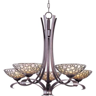 Maxim Lighting 21345DWUB Meridian - Five Light Chandelier