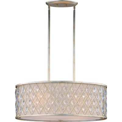 Maxim Lighting 21456OFGS Diamond - Four Light Pendant