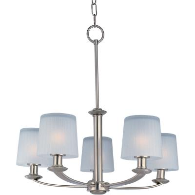 Maxim Lighting 21505FTSN Finesse - Five Light Chandelier